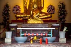 Un lugar para el ritual budista Fotografía de archivo