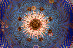 Un lustre de la vue inférieure Photo libre de droits