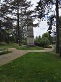 Un mémorial de guerre mondiale Images libres de droits
