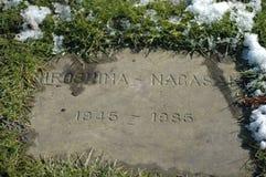 Un mémorial en pierre de guerre Photos libres de droits