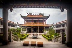 Un-mA village culturel pendant le jour pluvieux, Macao photos stock
