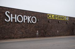 Un magasin de Shopko en La Crosse photo libre de droits