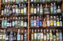 Un magasin de vins et de spiritueux Image stock