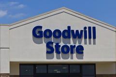 Un magasin I de bonne volonté Image libre de droits