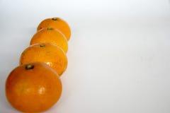 Un mandarino Fotografia Stock Libera da Diritti