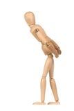 Un maniquí de madera gesticulate Fotografía de archivo libre de regalías