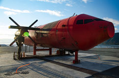 Un maniquí del aeroplano Fotos de archivo