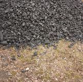 Un manojo de antracita del carbón Fotos de archivo libres de regalías
