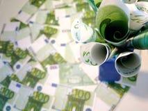 Un manojo de dinero foto de archivo libre de regalías