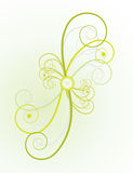 Un manojo de espirales al diseño Fotografía de archivo