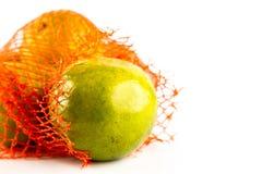 Un manojo de naranjas en conjunto de la red Foto de archivo