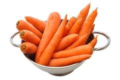Un manojo de zanahorias Foto de archivo