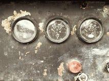 Un manometro di due pressioni Fotografie Stock