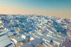 Mar de bloques Imagenes de archivo