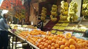 Un marché en Egypte Images libres de droits