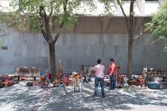 Un marché en plein air pour des souvenirs et des talents de Knick image stock
