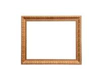 Un marco clásico de madera del diseño Imagenes de archivo