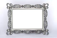 Un marco de lujo de la foto del metal Fotos de archivo libres de regalías