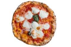 Un margherita napolitano real de la pizza foto de archivo