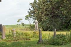 Un marqueur grave antique Photo stock