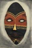 Un masque africain Image libre de droits