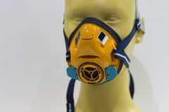 Un masque de filtre de gaz Photographie stock libre de droits