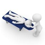 Un massage est bon Photo libre de droits