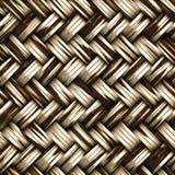 Un material de mimbre tejido inconsútil libre illustration