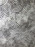 un materiale illustrativo piacevole dell'estratto del cerchio sulla parete Fotografia Stock