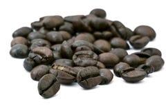 Mazzo dei chicchi di caffè Fotografia Stock Libera da Diritti