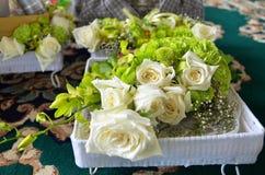 Un mazzo delle rose Fotografie Stock