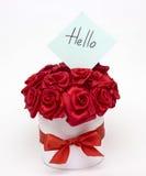 Un mazzo delle rose rosse Immagine Stock Libera da Diritti