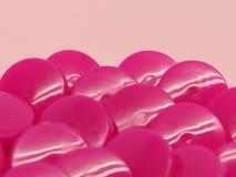 Un mazzo di bottoni della rottura di rosa fotografie stock libere da diritti