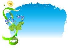 Un mazzo di giacimento di fiori Immagine Stock