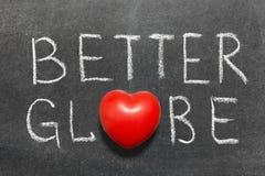 Un meilleur globe Photo libre de droits