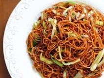 Un mein cinese del cibo Fotografia Stock Libera da Diritti