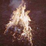 Un mejor fuego Fotos de archivo