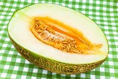 Un melone Fotografia Stock Libera da Diritti