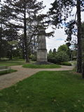 Un memoriale di guerra mondiale Immagini Stock Libere da Diritti