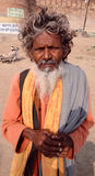 Un mendicante Fotografie Stock