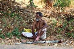 Desamparados, la India imagen de archivo libre de regalías