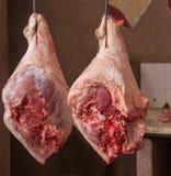 Un mercado de carne rural en Cuba fotografía de archivo libre de regalías