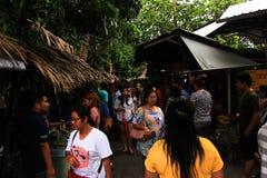 Un mercado retro Foto de archivo