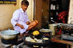 Un mercato di strada in Udaipur, India Fotografia Stock