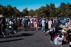 Un mercato occupato a Camberwell immagine stock