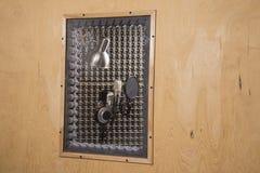 Cabina acústica Imagen de archivo