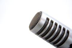 Un microfono Fotografia Stock