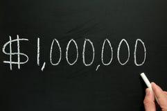 Un millón dólares. Fotografía de archivo libre de regalías