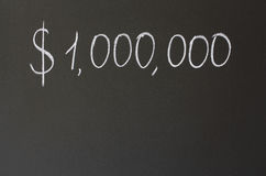 Un millón dólares fotos de archivo