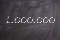 Un million photographie stock
